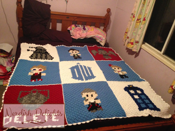 doctor who CAL - blanket